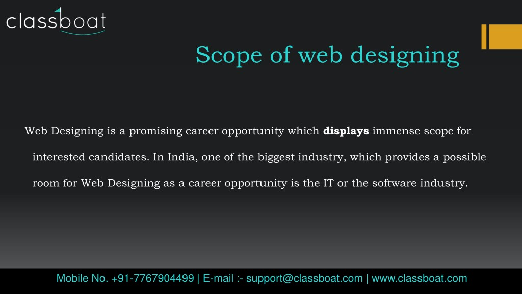 Ppt Best Web Designing Course In Mumbai Powerpoint Presentation Free Download Id 7873493