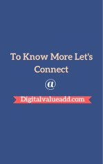 to know more let s connect @