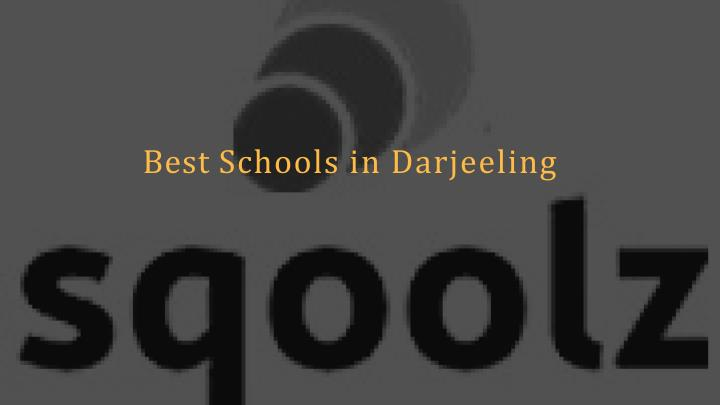 best schools in darjeeling n.