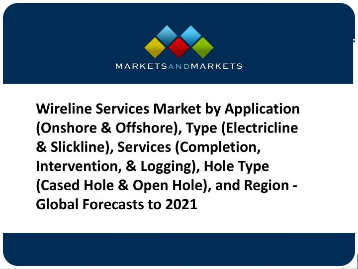 PPT - Wireline Services Market Global Forecast To 2021- End