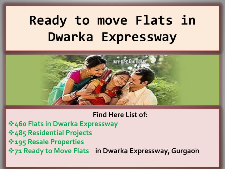ready to move flats in dwarka expressway n.