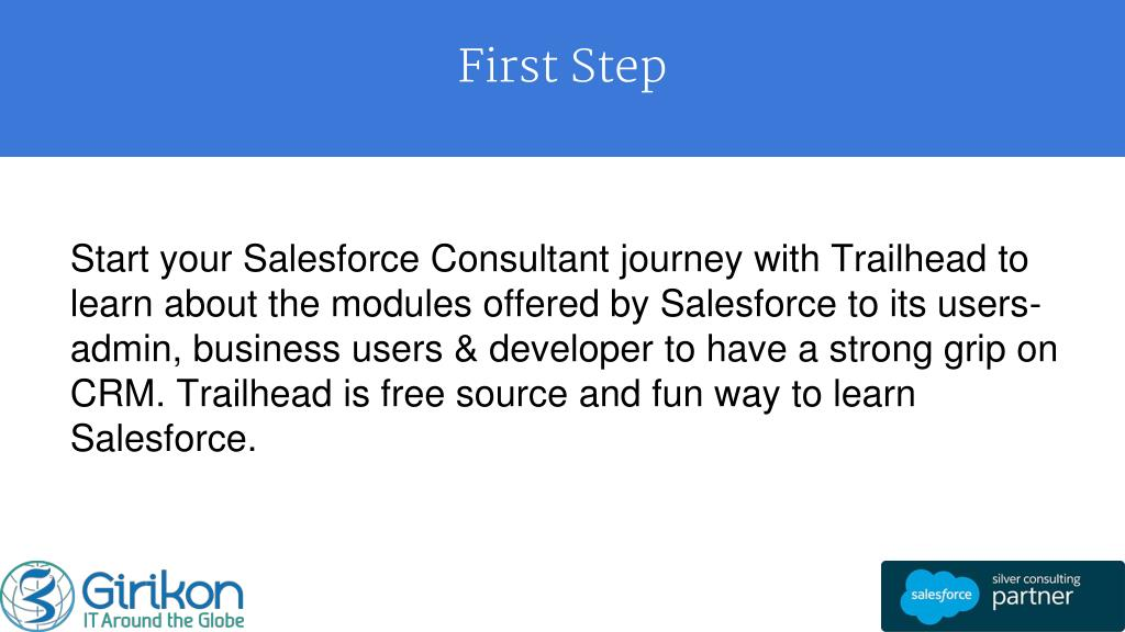 PPT - How to become salesforce consultant PowerPoint Presentation