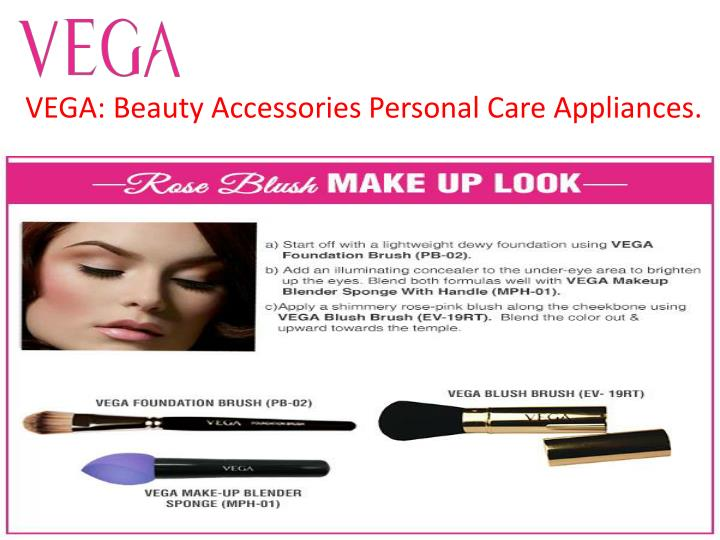 vega beauty accessories personal care appliances n.