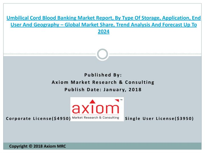 umbilical cord blood banking market report n.
