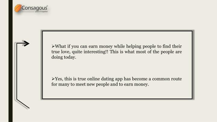 How to make money from a dating app