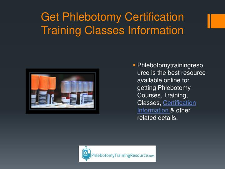 Ppt Phlebotomy Training School Online Courses Guide Program
