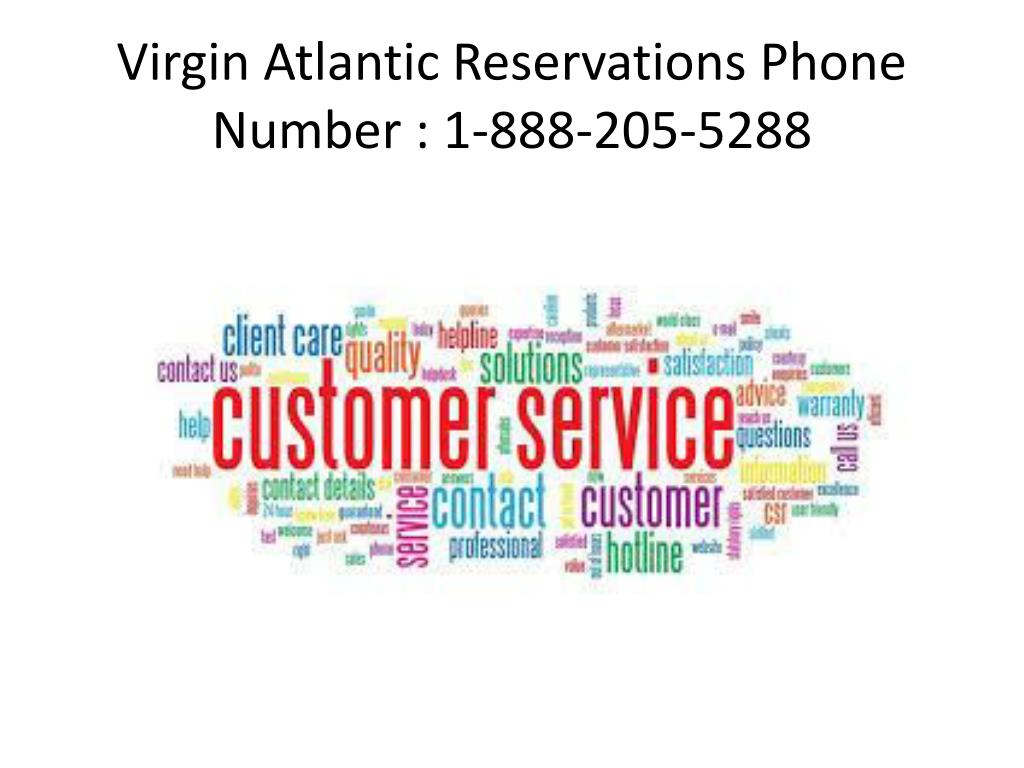PPT - Virgin Atlantic Reservations Phone Number PowerPoint