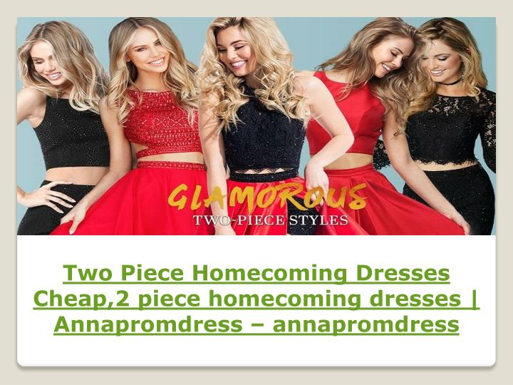 two piece homecoming dresses cheap 2 piece n.