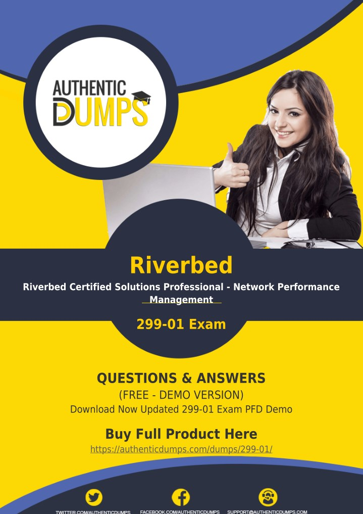 Riverbed Certified Solutions Professional Network Performance Test 299-01 Exam Q
