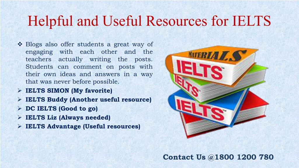 PPT - Very Helpful and Useful Resources for IELTS PowerPoint