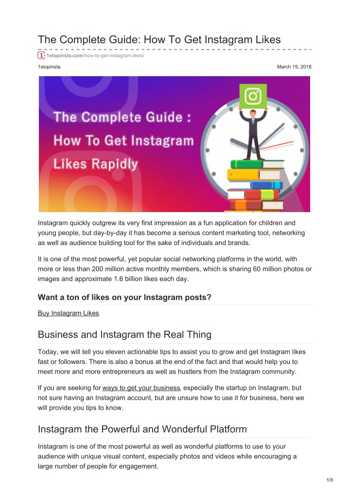 the complete guide how to get instagram likes n.