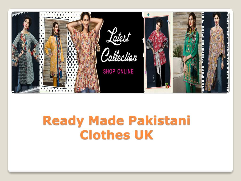 Ppt Ready Made Pakistani Clothes Online Powerpoint Presentation Free Download Id 7881950
