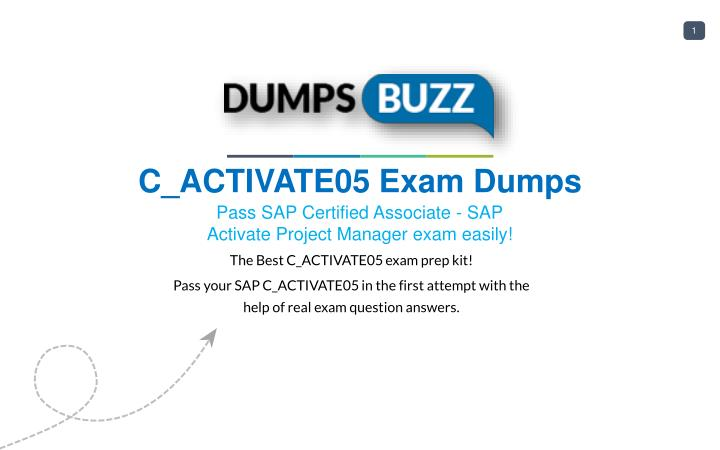 Ppt Cactivate05 Test New Questions Get Verified Cactivate05