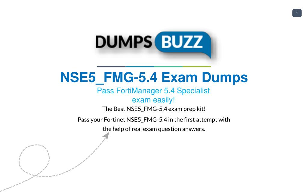 Ppt Valid Nse5fmg 54 Exam Vce Pdf New Questions Powerpoint