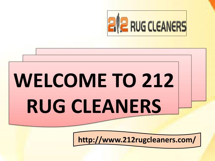 welcome to 212 rug cleaners n.