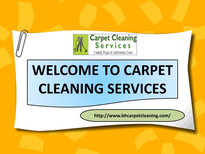 welcome to carpet cleaning services n.
