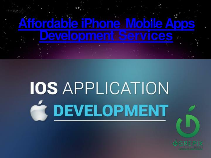 affordable iphone mobile a pps d e v elopme n t services n.