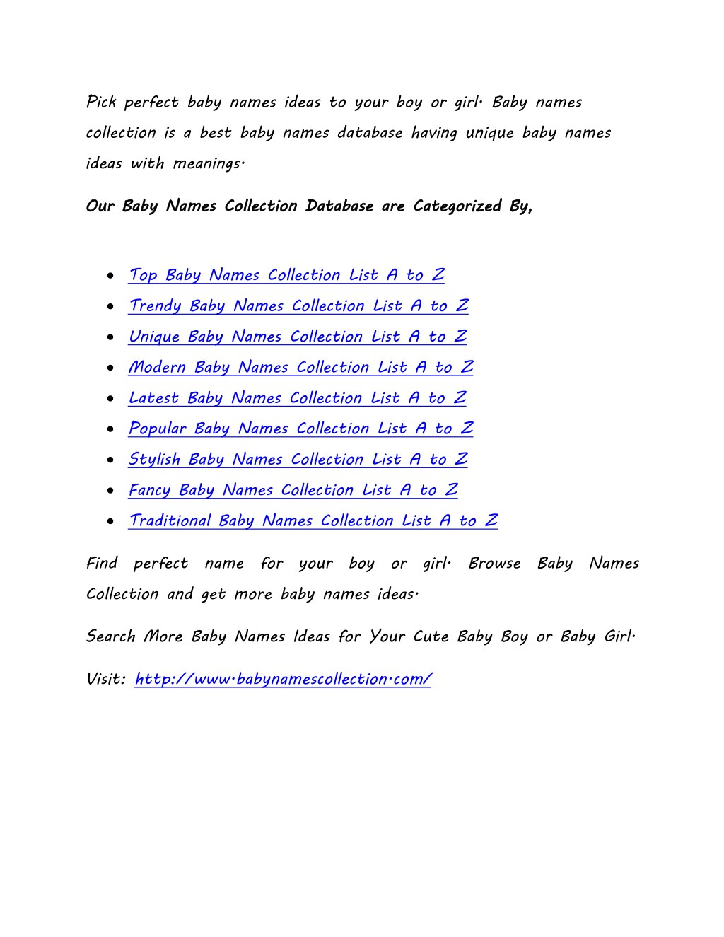 PPT - Top, Trends, Unique Baby Names Collection List  A to Z Baby