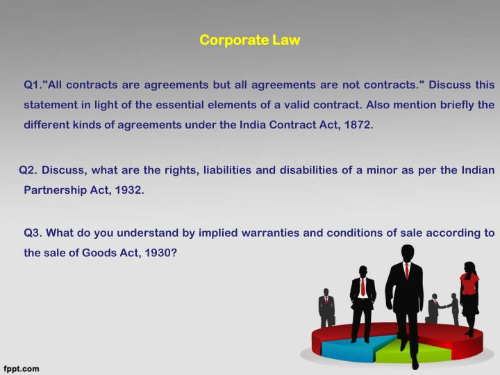 Ppt Discuss The Concept Of Free Consent And Misrepresentation As