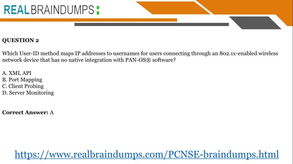 PPT - Get Latest Paloalto Networks PCNSE Braindumps