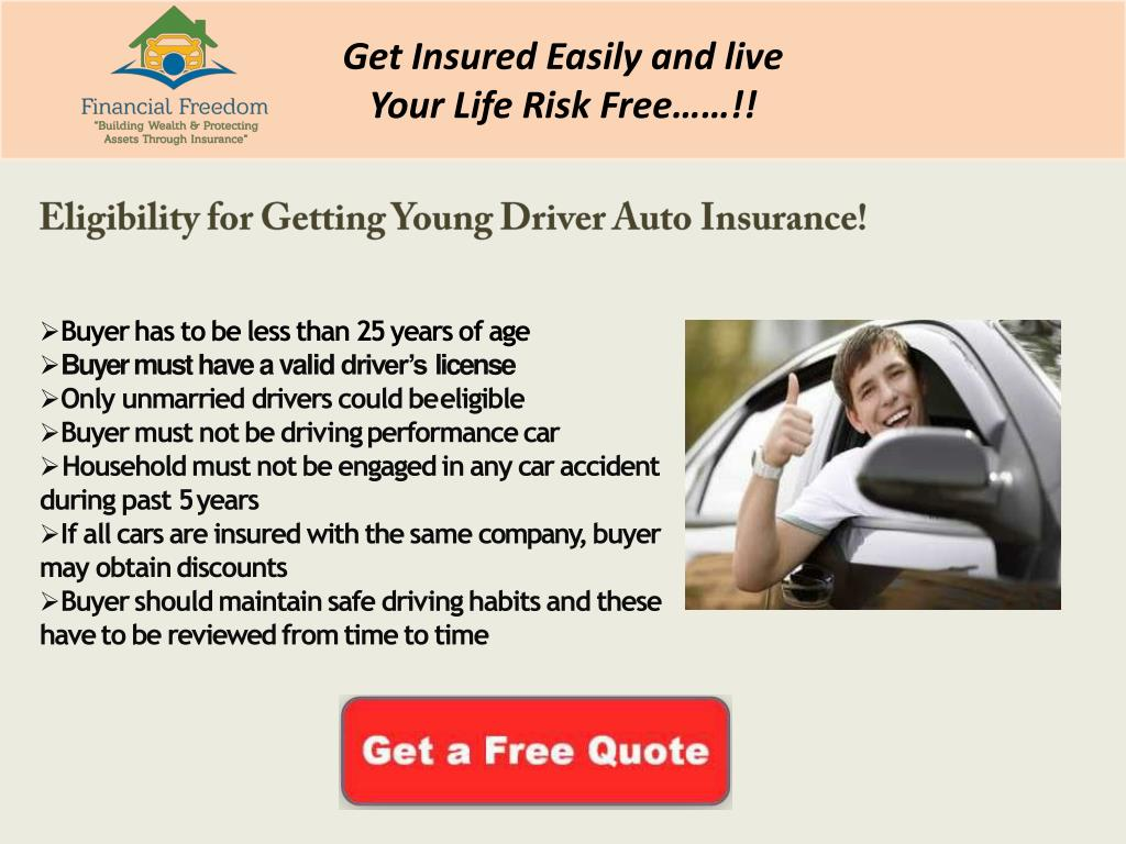 Ppt What Is The Cheapest Car Insurance For Young Drivers Powerpoint Presentation Id 7886143