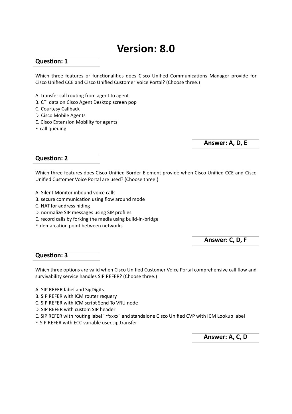 PPT - Actual 600-455 Exam [PDF] Sample Questions Answers
