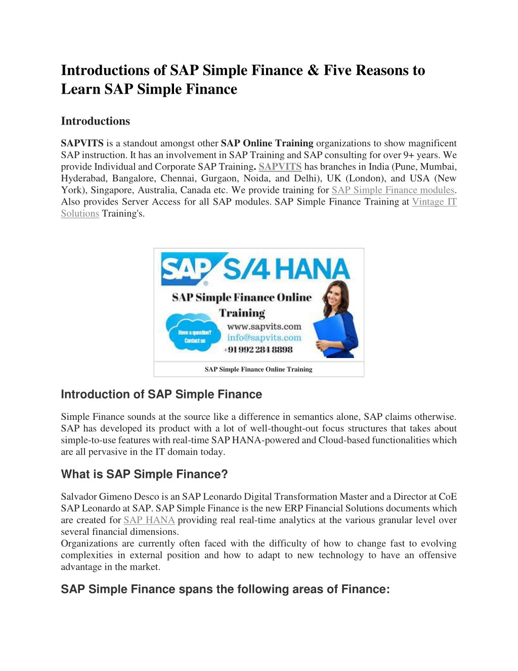 PPT - SAP Simple Finance PDF PowerPoint Presentation - ID:7888091