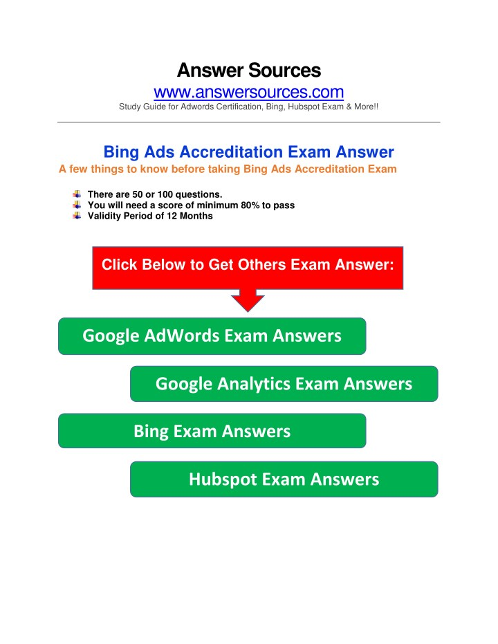 answer sources www answersources com study guide n.