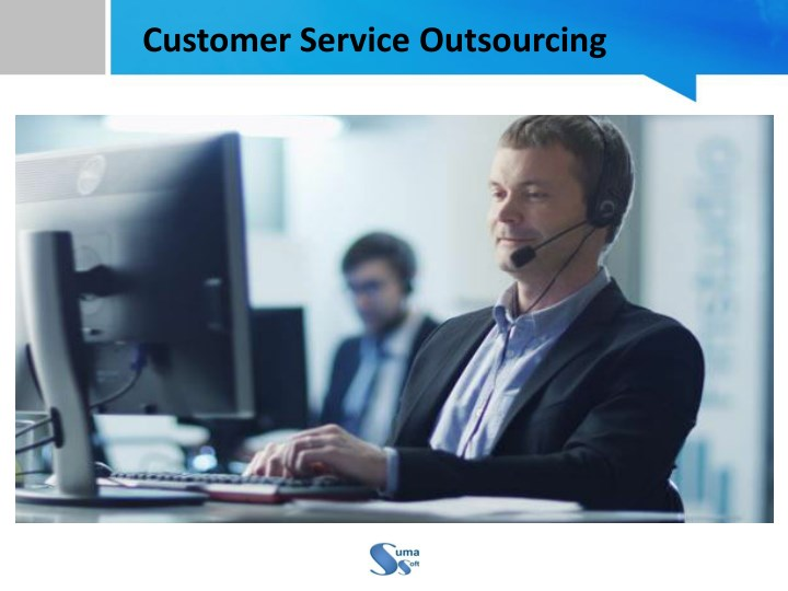 customer service outsourcing n.