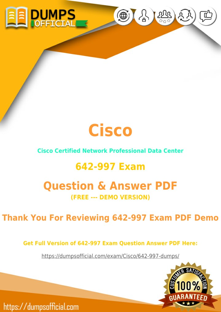 PPT - 642-997 Exam Questions [Updated] PDF PowerPoint