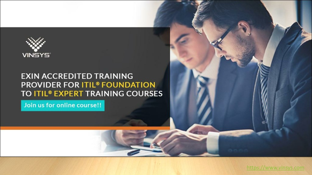 Ppt Itil Foundation Certification Training In Bangalore Itil