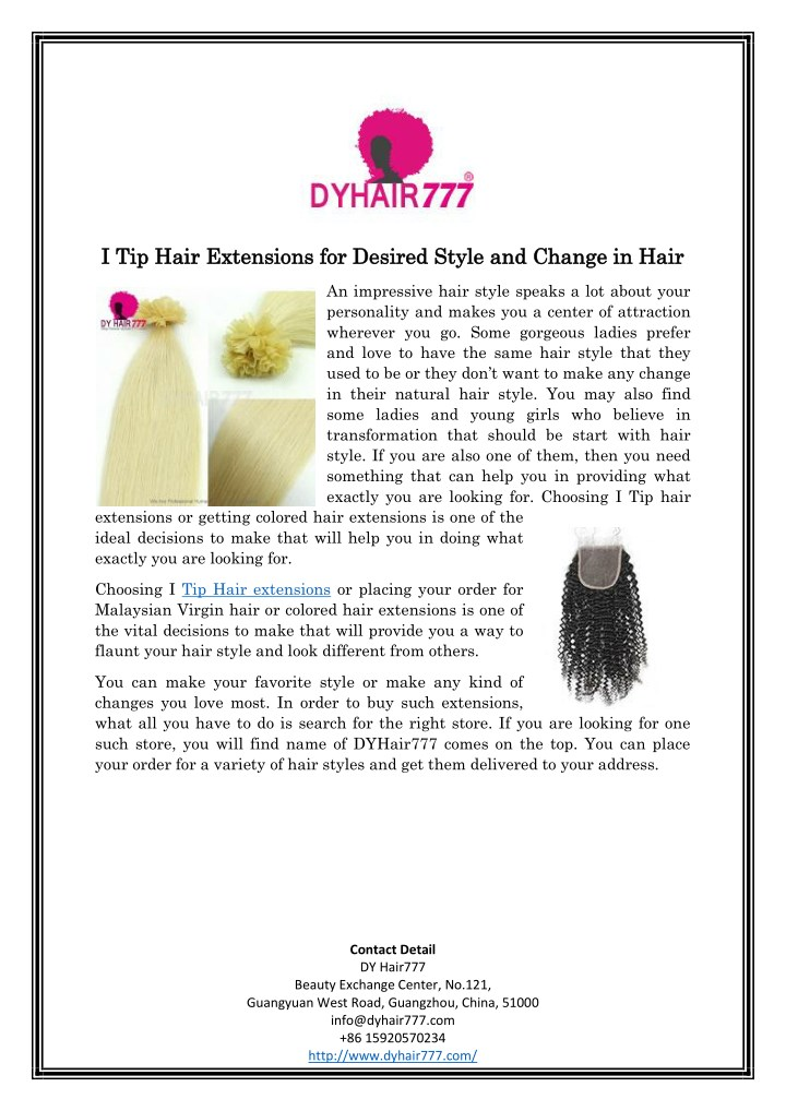 i tip hair extensions for desired style n.