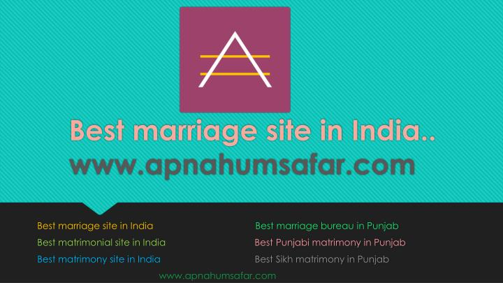 PPT - best marriage sites in india | Punjabi Wedding PowerPoint