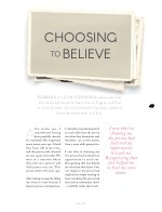choosing to believe
