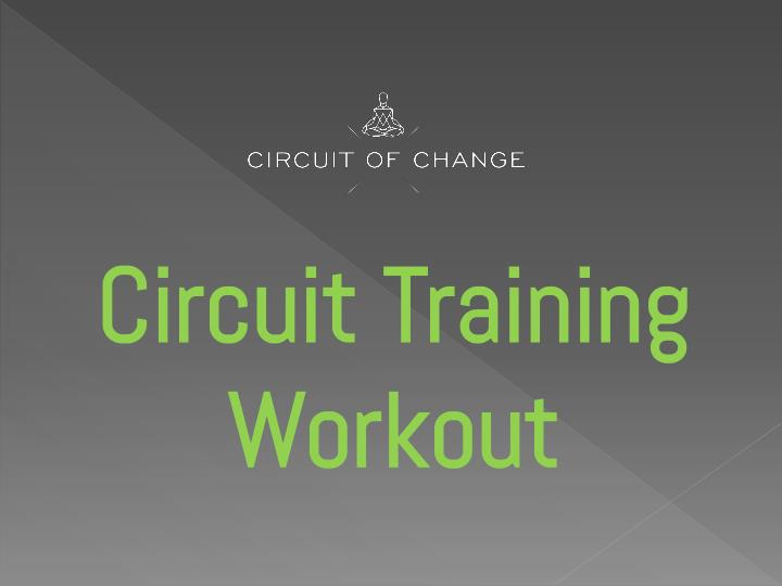 PPT - Best Circuit training workouts New York NY PowerPoint