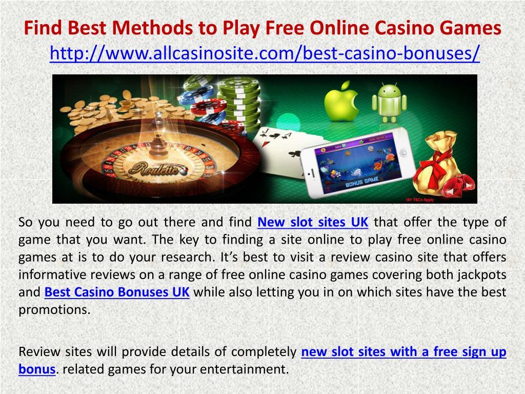 Find Free Casino Games