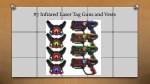 7 infrared laser tag guns and vests