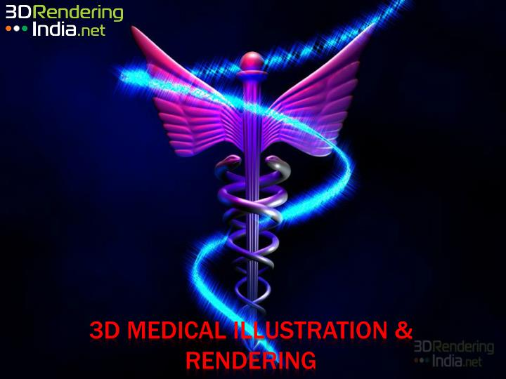 3d medical illustration rendering n.
