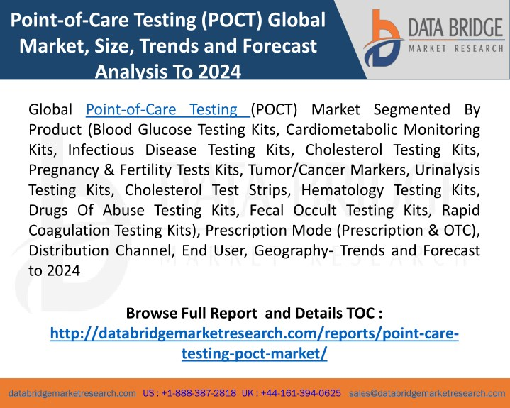 point of care testing poct global market size n.