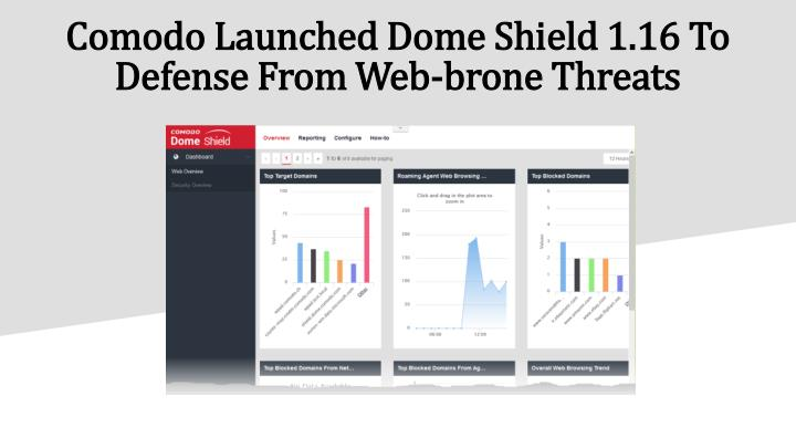 comodo launched dome shield 1 16 to defense from web brone threats n.