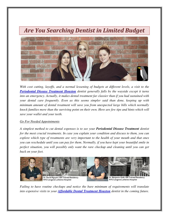 are you searching dentist in limited budget n.