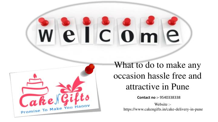what to do to make any occasion hassle free n.