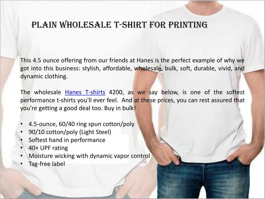 PPT - Wholesale Hanes Tshirts PowerPoint Presentation - ID