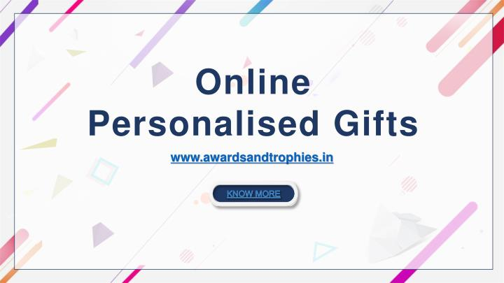 online personalised gifts n.