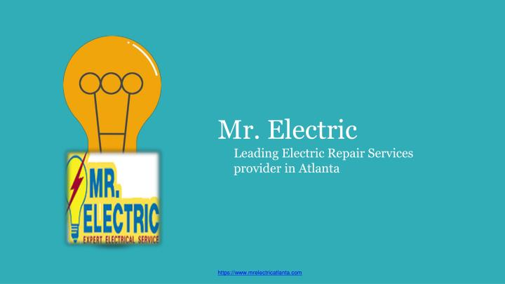 mr electric n.