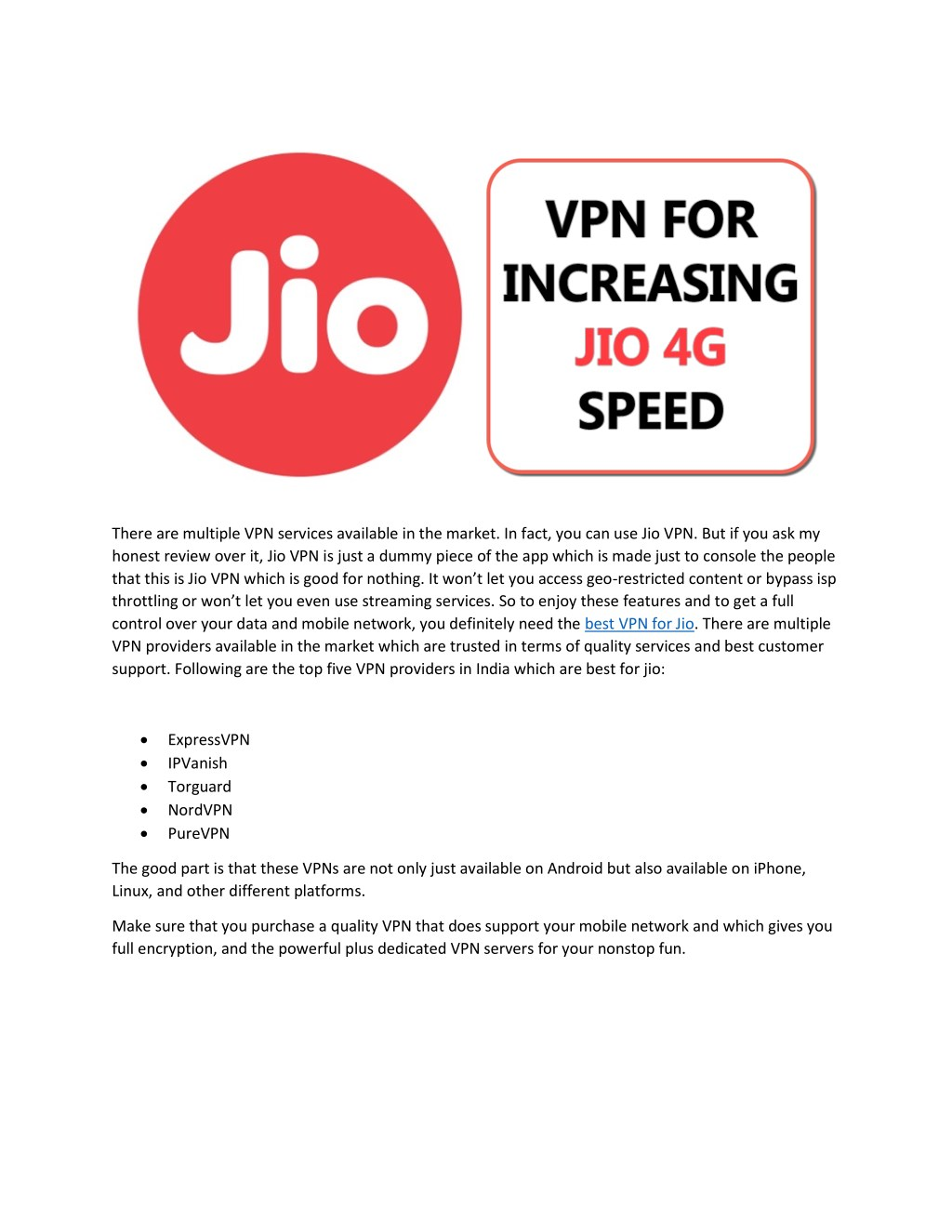 PPT - Best VPN for JIO PowerPoint Presentation - ID:7896684