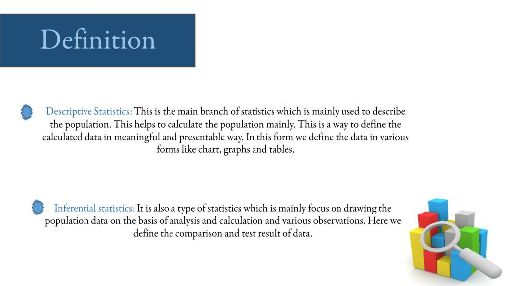 PPT - Detailed Information about Descriptive Statistics and