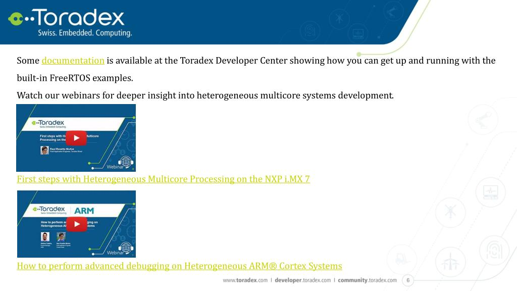 PPT - Amazon FreeRTOS, Heterogeneous cores and the all-new