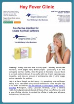 hay fever clinic