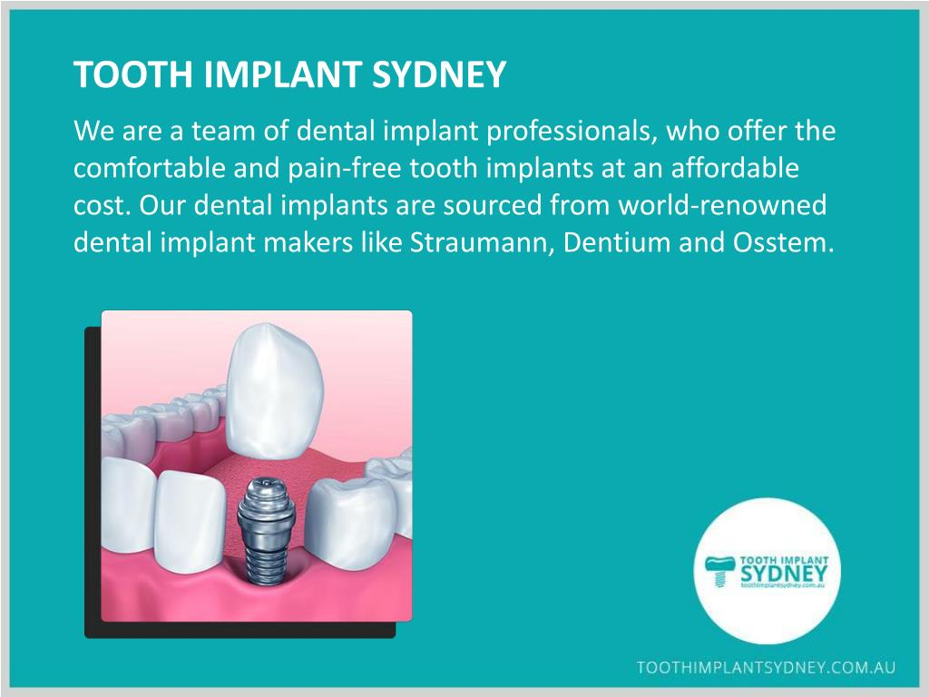 PPT - Lost a Tooth? No worries, Replace It with Dental Implants